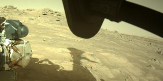 View image taken on Mars, Mars Perseverance Sol 148: Front Right Hazard Avoidance Camera (Hazcam)