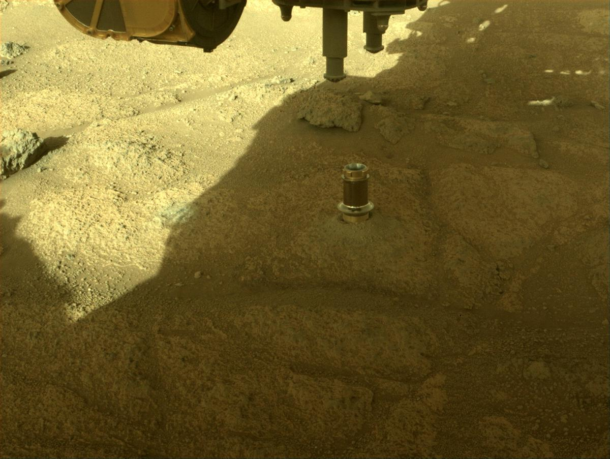 This image was taken by FRONT_HAZCAM_RIGHT_A onboard NASA's Mars rover Perseverance on Sol 148