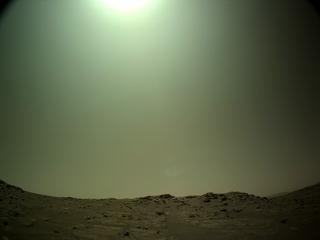 View image taken on Mars, Mars Perseverance Sol 149: Left Navigation Camera (Navcam)