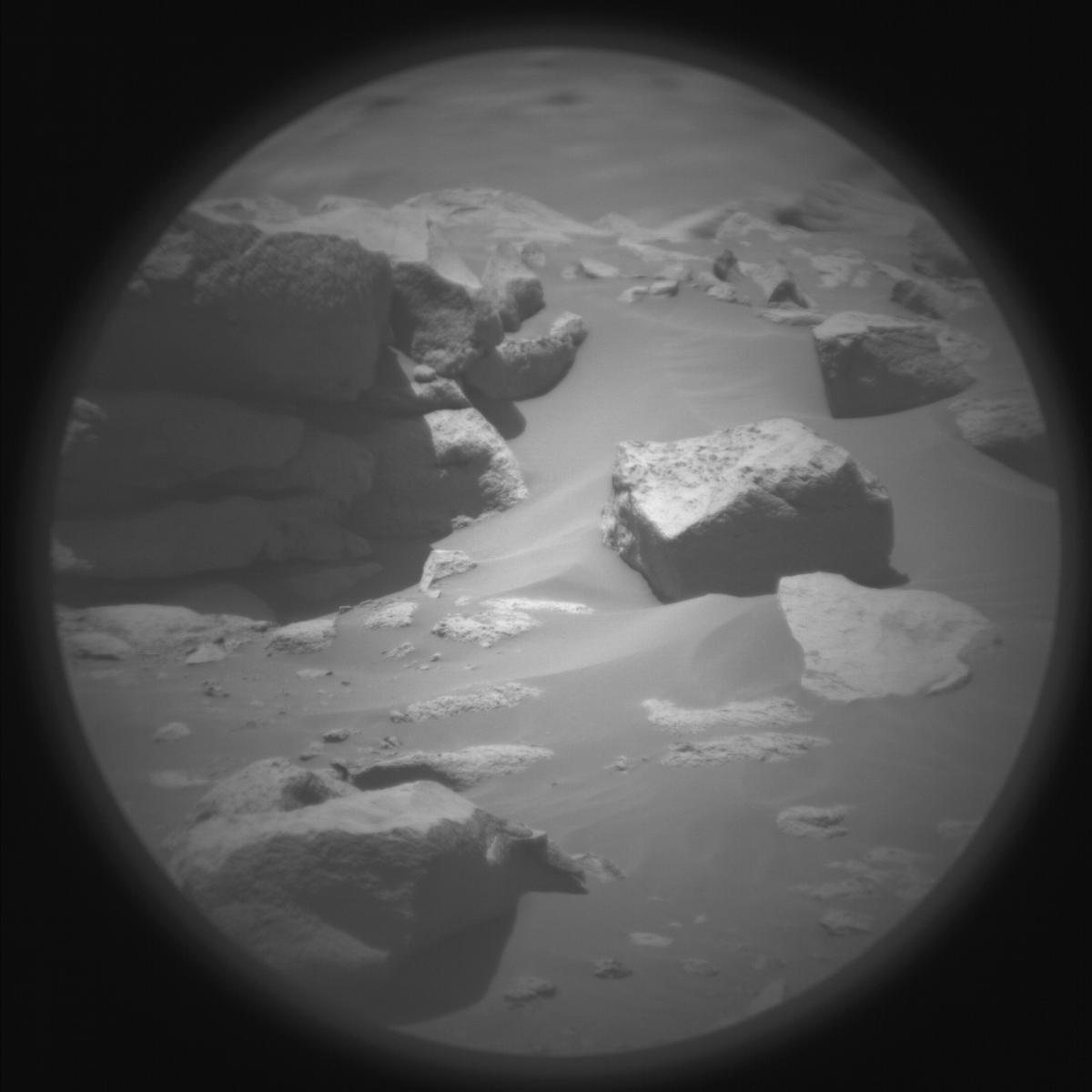 This image was taken by SUPERCAM_RMI onboard NASA's Mars rover Perseverance on Sol 149