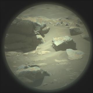 View image taken on Mars, Mars Perseverance Sol 149: SuperCam Camera