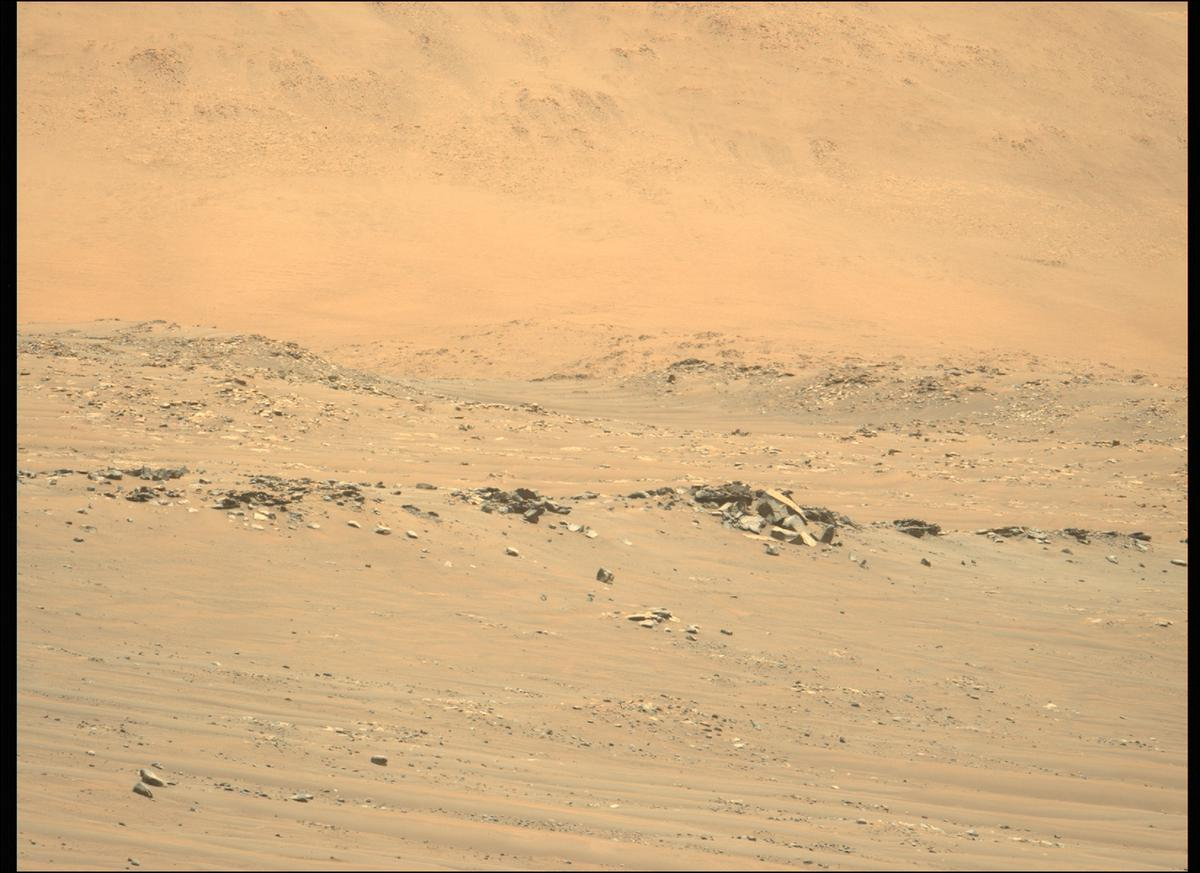 This image was taken by MCZ_LEFT onboard NASA's Mars rover Perseverance on Sol 149