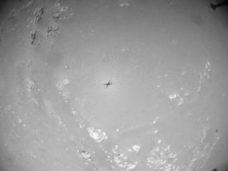View image taken on Mars, Mars Helicopter Sol 152: Navigation Camera