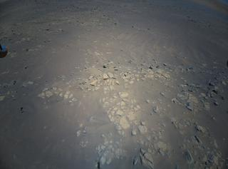 View image taken on Mars, Mars Helicopter Sol 152: Color Camera