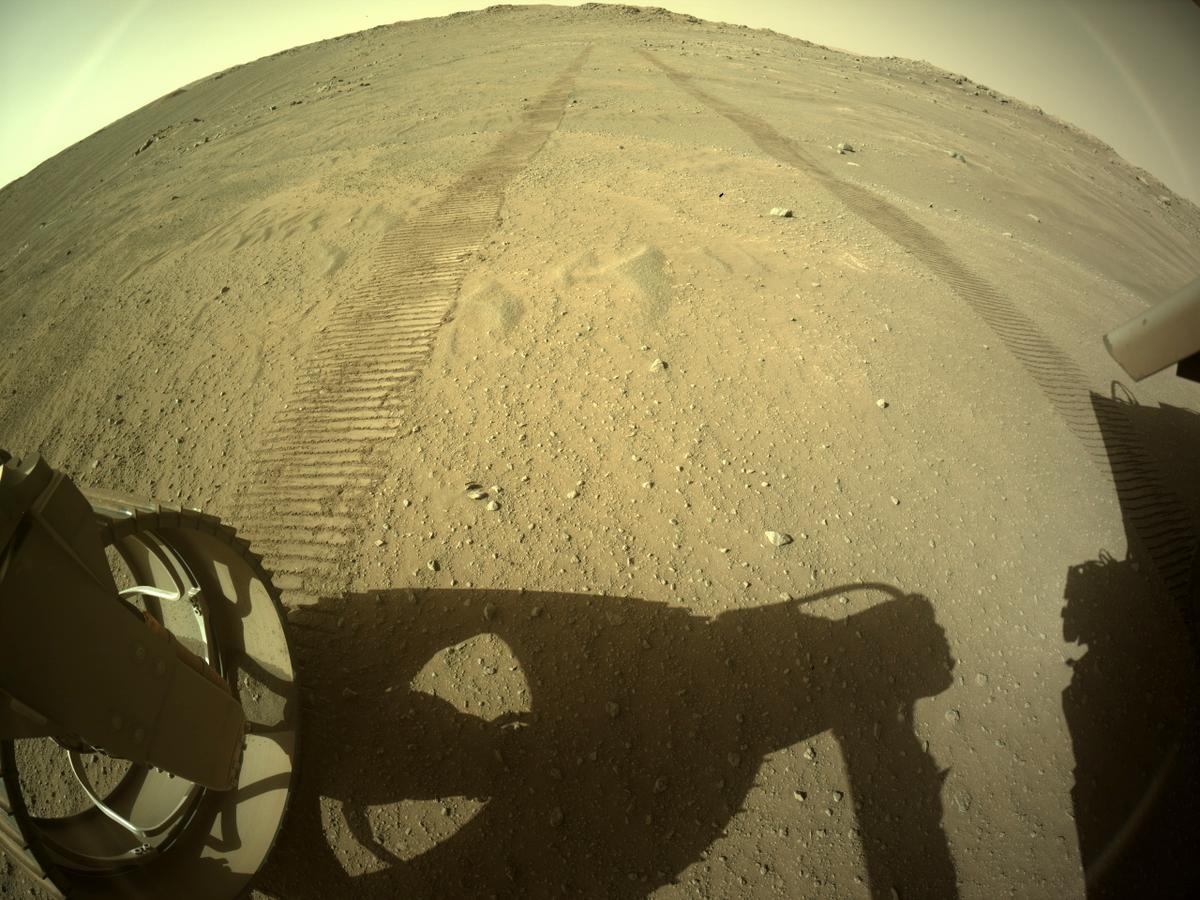 Mars Rover Photo #865390