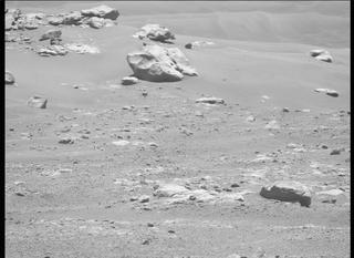 View image taken on Mars, Mars Perseverance Sol 155: Left Mastcam-Z Camera