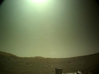 View image taken on Mars, Mars Perseverance Sol 158: Left Navigation Camera (Navcam)