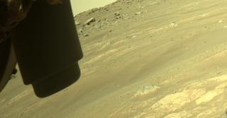 View image taken on Mars, Mars Perseverance Sol 160: Front Left Hazard Avoidance Camera (Hazcam)