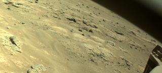 View image taken on Mars, Mars Perseverance Sol 160: Front Right Hazard Avoidance Camera (Hazcam)