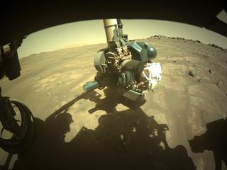 View image taken on Mars, Mars Perseverance Sol 164: Front Left Hazard Avoidance Camera (Hazcam)