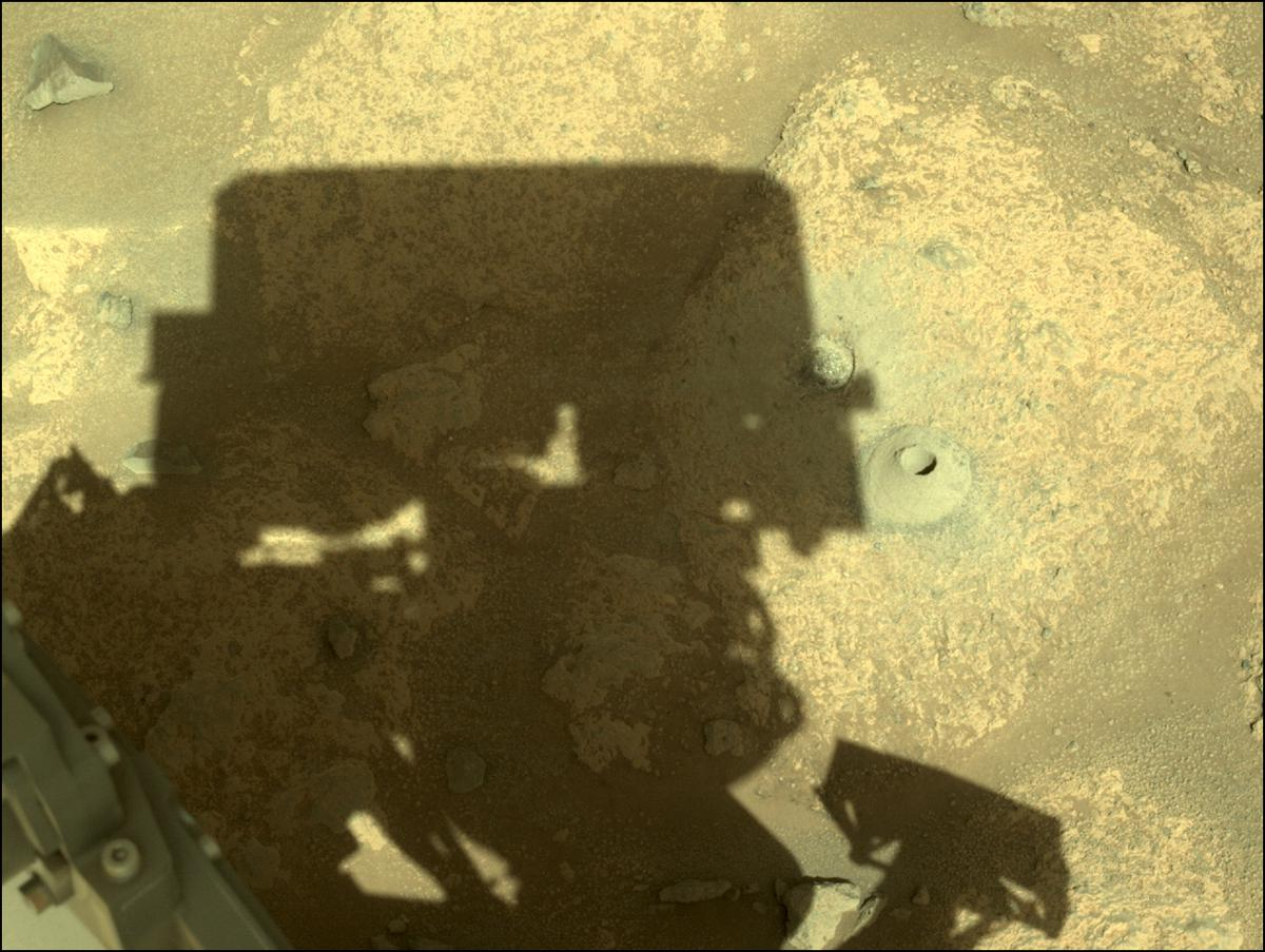 This image was taken by NAVCAM_LEFT onboard NASA's Mars rover Perseverance on Sol 164