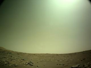 View image taken on Mars, Mars Perseverance Sol 193: Left Navigation Camera (Navcam)