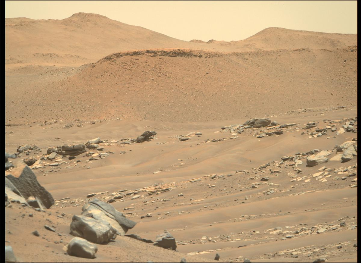 This image was taken by MCZ_RIGHT onboard NASA's Mars rover Perseverance on Sol 194