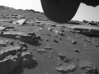 View image taken on Mars, Mars Perseverance Sol 204: Front Right Hazard Avoidance Camera (Hazcam)