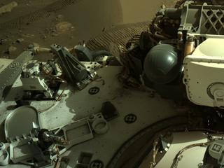 View image taken on Mars, Mars Perseverance Sol 204: Right Navigation Camera (Navcam)