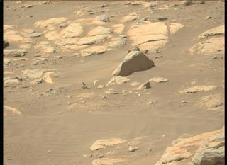 View image taken on Mars, Mars Perseverance Sol 204: Left Mastcam-Z Camera