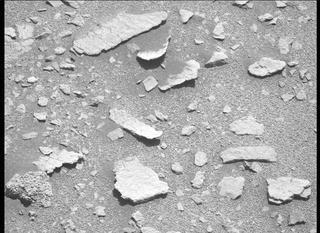 View image taken on Mars, Mars Perseverance Sol 208: Left Mastcam-Z Camera