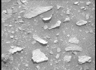 View image taken on Mars, Mars Perseverance Sol 208: Right Mastcam-Z Camera