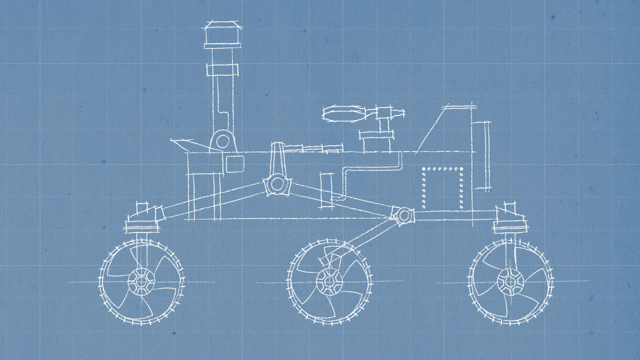 what was the design for the mars rover - photo #4
