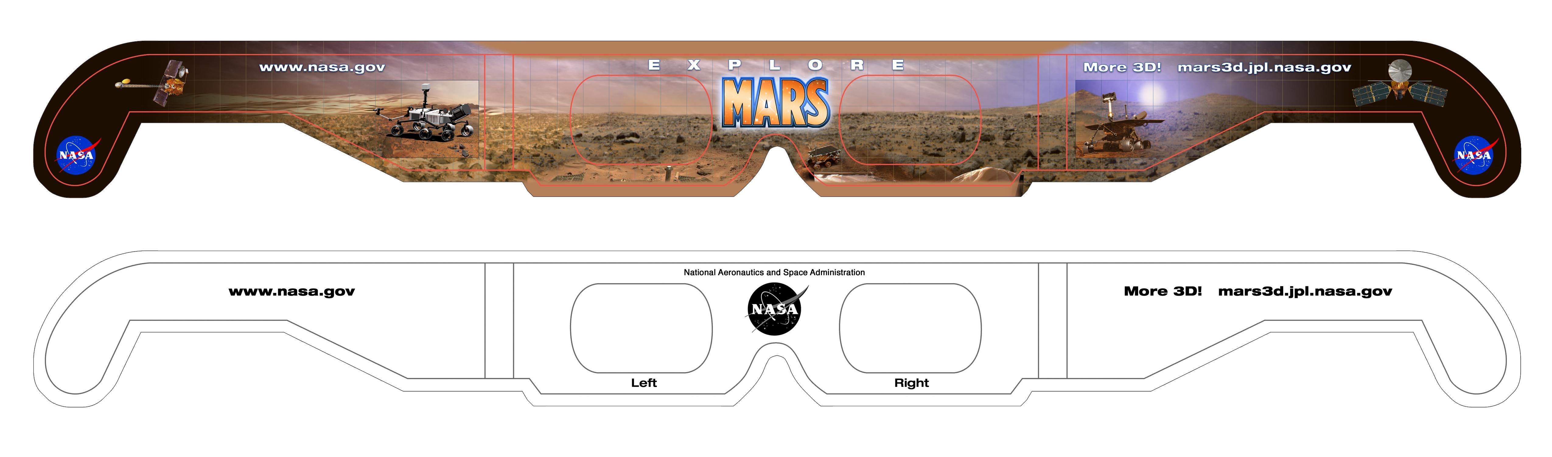 Mars 3D Images - NASA Jet Propulsion Laboratory