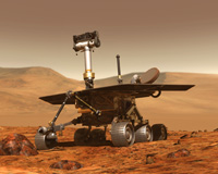 Artist's concept of the Mars Exploration Rover