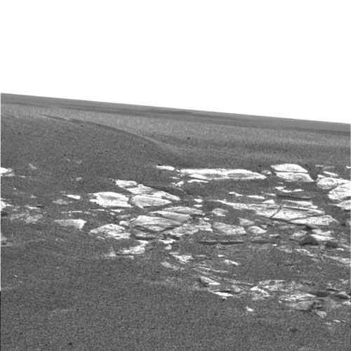Interesting rocks on Mars