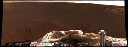 Photo from NASA/JPL/Cornell <br />