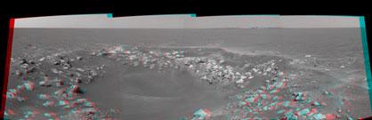 Fram Crater 3D