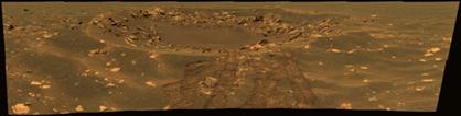 Crater FRAM on Mars