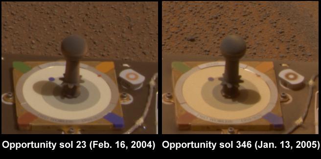photos de la mire des MER ? Opportunity_dust_comparison-A379R1