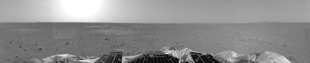 Left Panorama of Spirit's Landing Site
