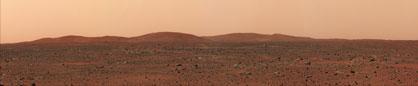 パノラマ 火星表面