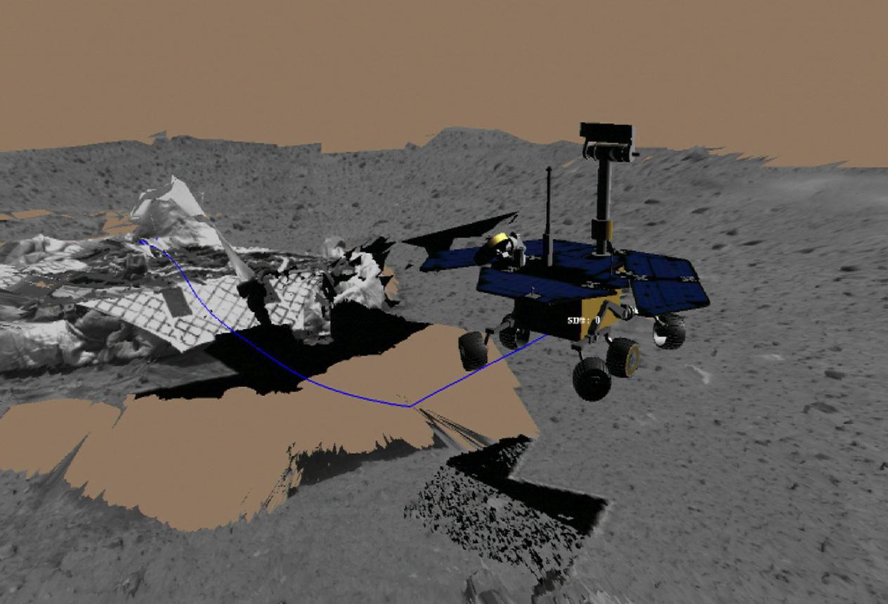 mars rover spirit mission - photo #13