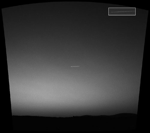 NASA Confirmed UOI in Mars.