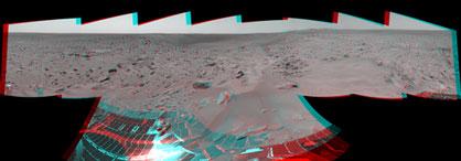 Bonneville Crater 3D