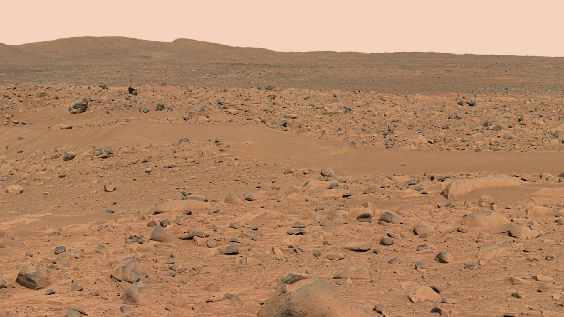 Mars Jplnasagov Mer Gallery Press Spirit 20040318a 10 JG 04 Hills A074R1