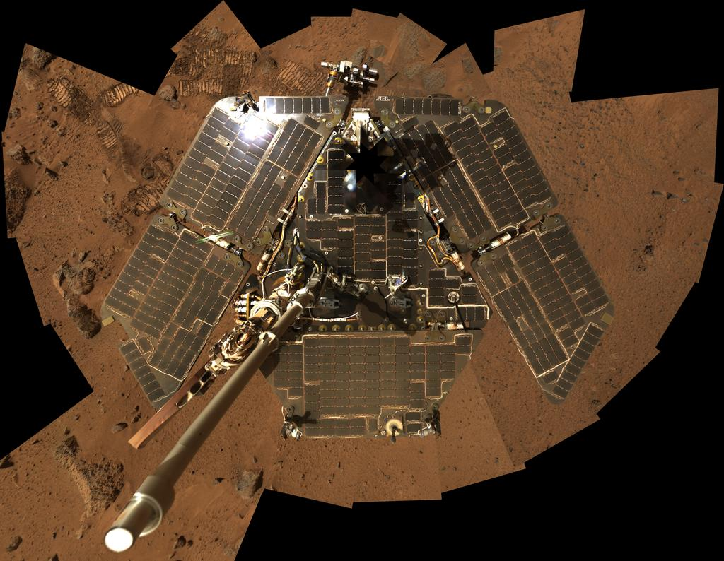 solar power mission to mars - photo #41