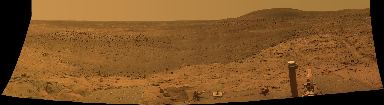 Mars Exploration Rover Mission: Panoramas: Spirit