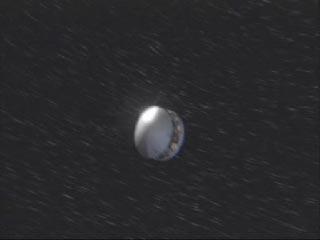 MER-B Opportunity est en route vers la planète rouge sur sa trajectoire de croisière !  Des corrections de trajectoire seront apportées durant son voyage pour s'assurer de son bon cheminement. Opportunity atterrira dans Meridiani Planum le 25 Janvier 2004.