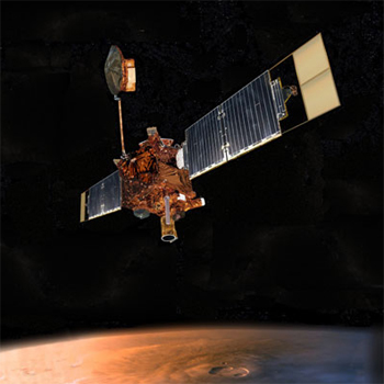 Picture of Mars Global Surveyor