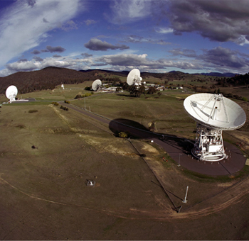 Picture of DSN antennas