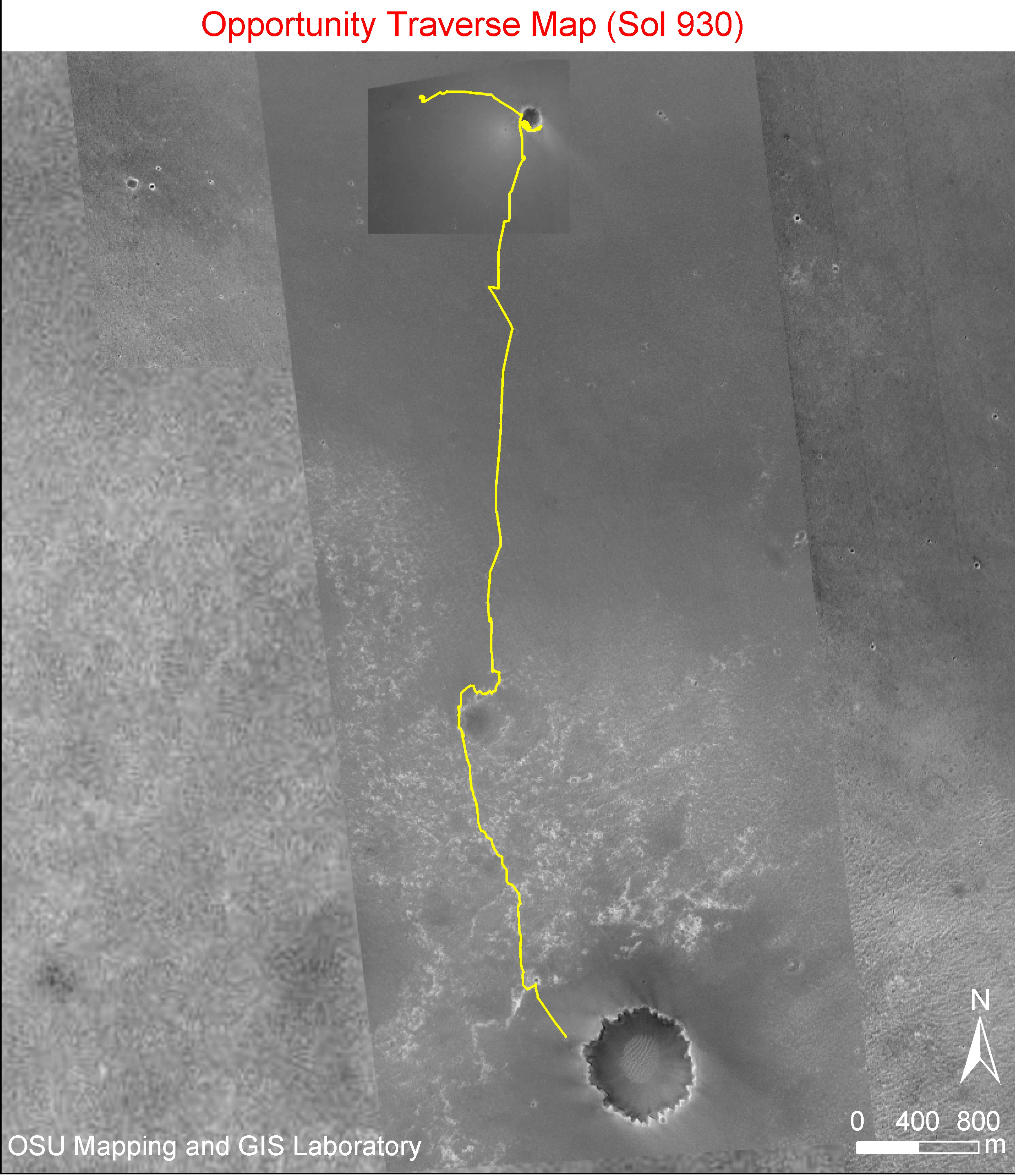 mars rover opportunity current location - photo #25