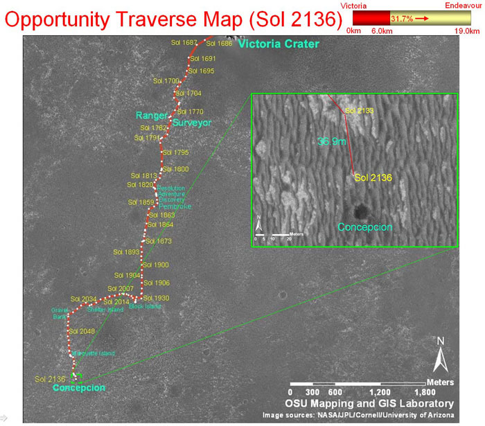 opportunity rover map - photo #20