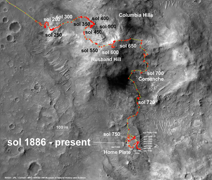 opportunity rover map - photo #15
