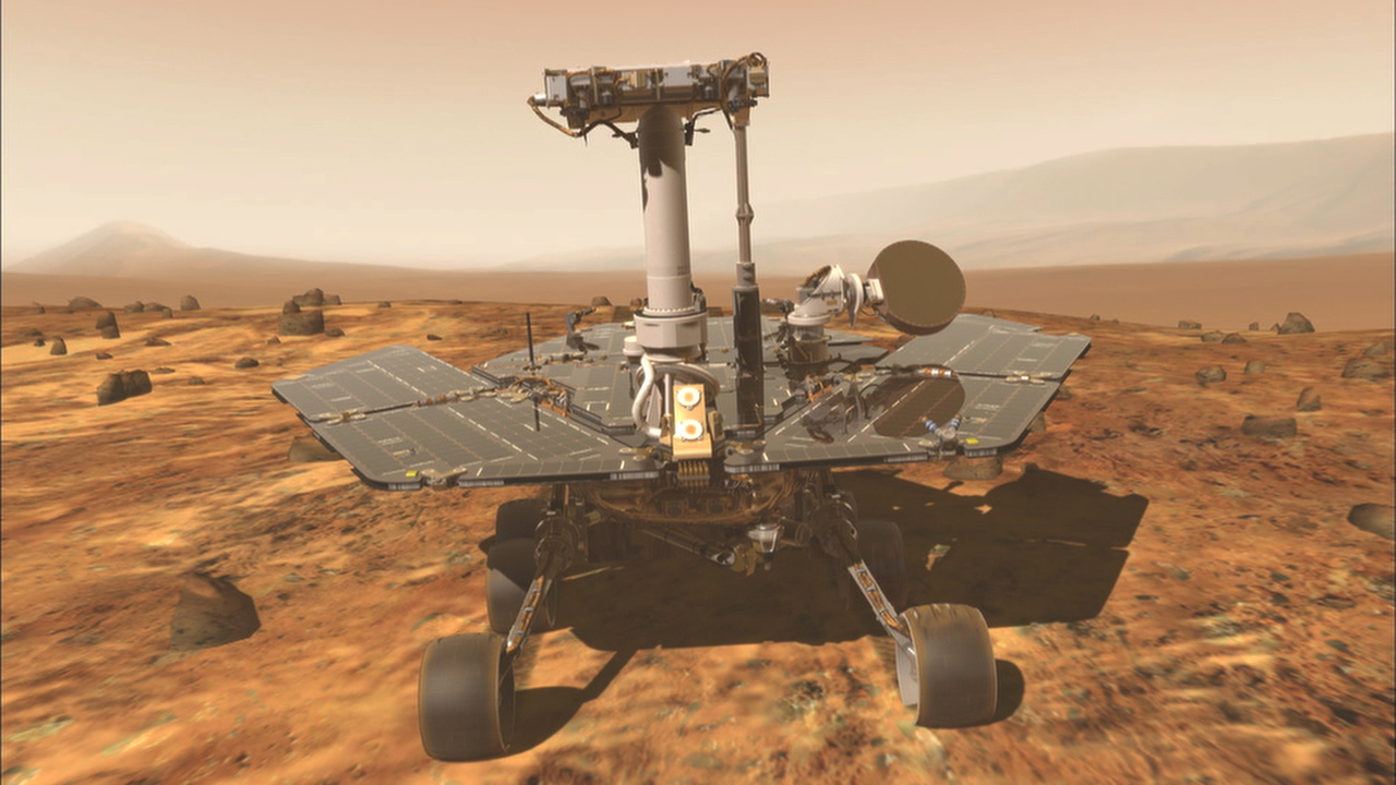 Mars Exploration Rover Mission Spotlight