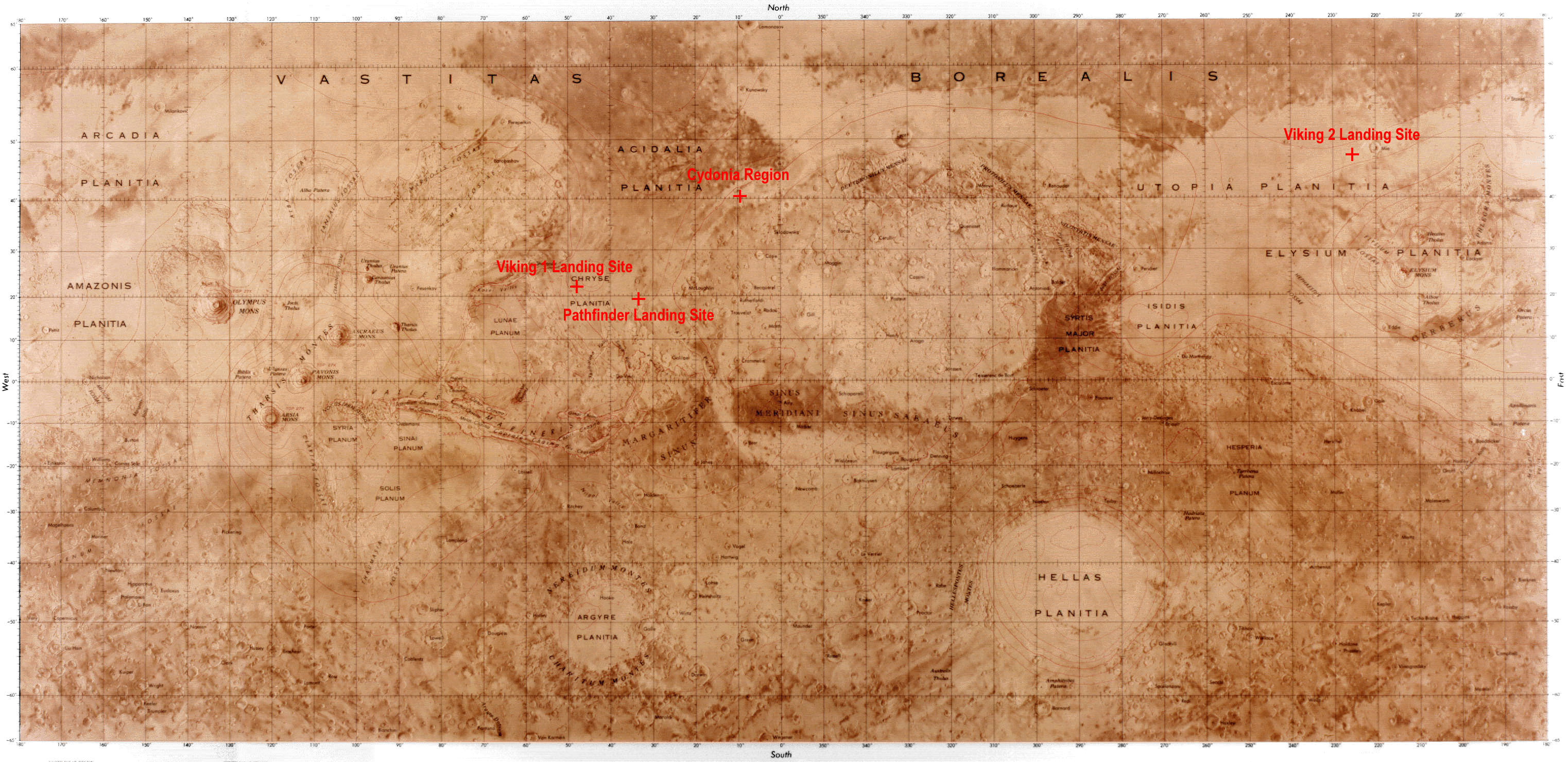 nasa mars maps-#2