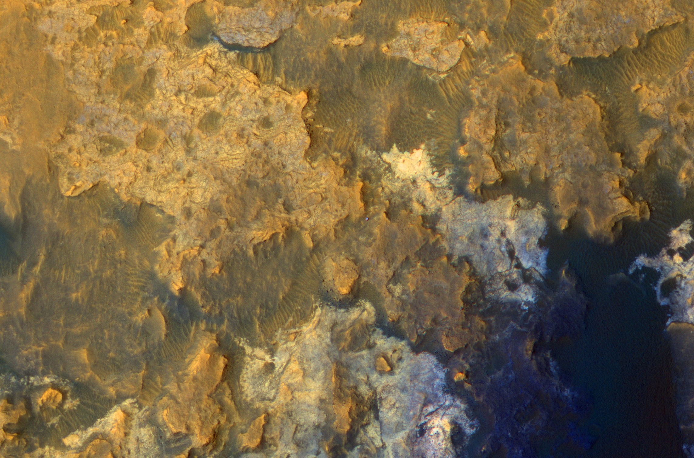 Mars Orbiter Sends First Snap Mars Orbiter Curiosity Rover Artists Drive Hirise Pia