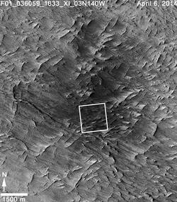 Fresh Mars Crater Confirmed Within Impact Scar