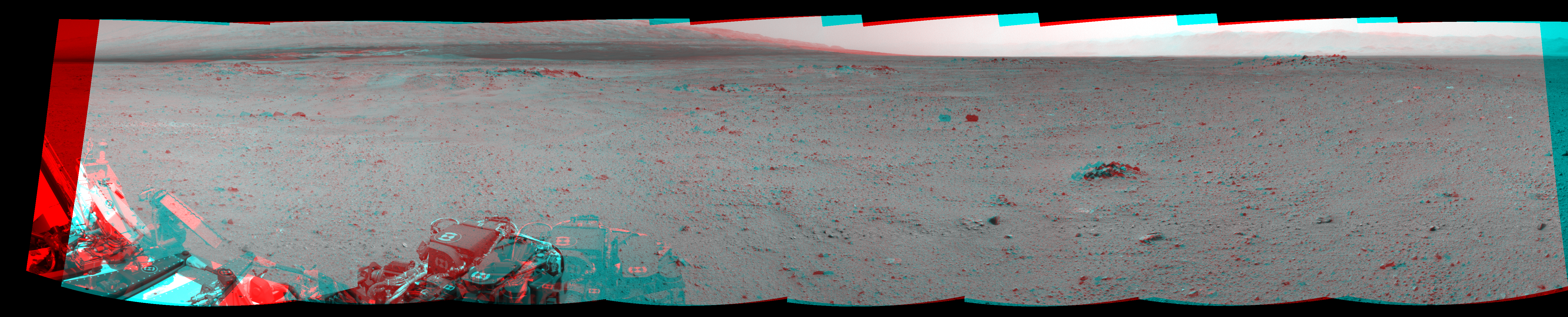 This 3D Mosaics image was acquired by NASA's Mars rover Curiosity on Sol 344, at drive 0, site number 10.