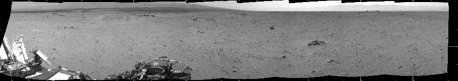 This Cylindrical image was acquired by NASA's Mars rover Curiosity on Sol 344, at drive 0, site number 10.